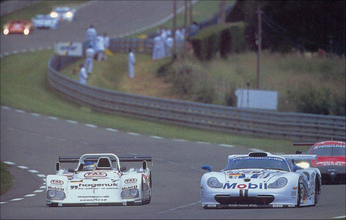 Even the improved 1997 version of the 911 GT1 fell short of beating the WSC-95.