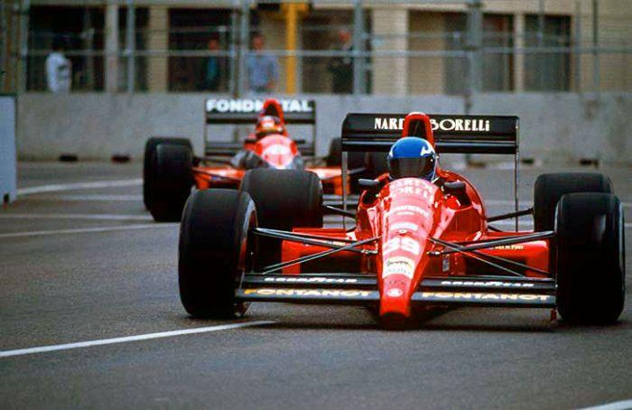 Gary Brabham, Pre-qualifying US GP, Phoenix 1990.