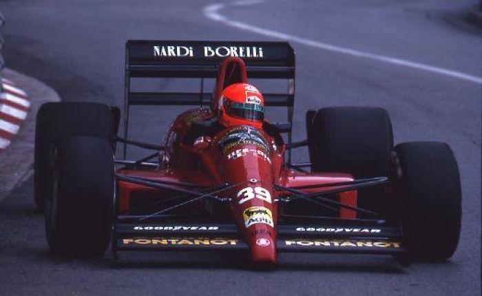 Bruno Giacomelli, Monaco 1990.