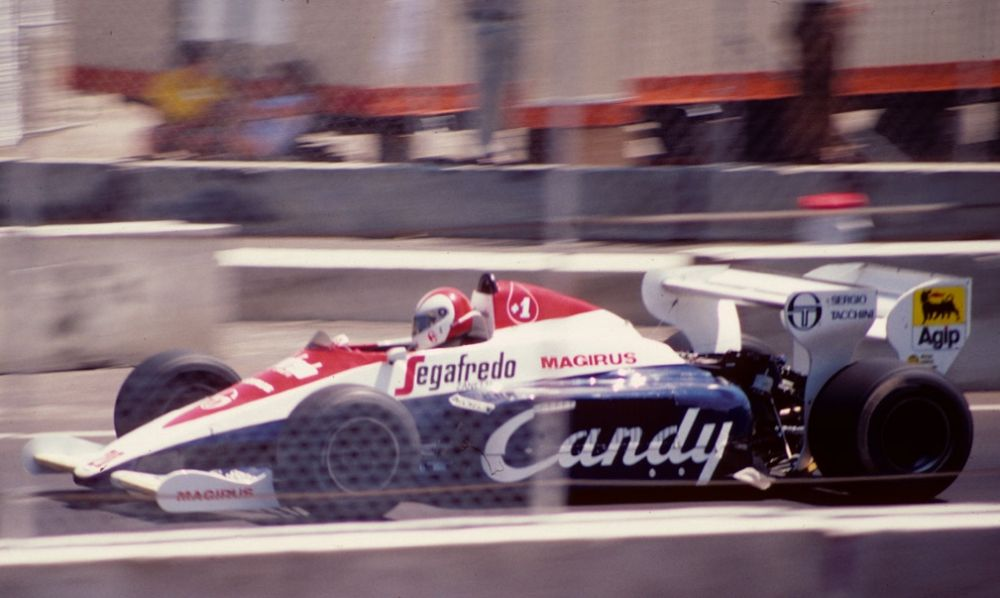 Johnny Cecotto, 1984 Dallas GP.