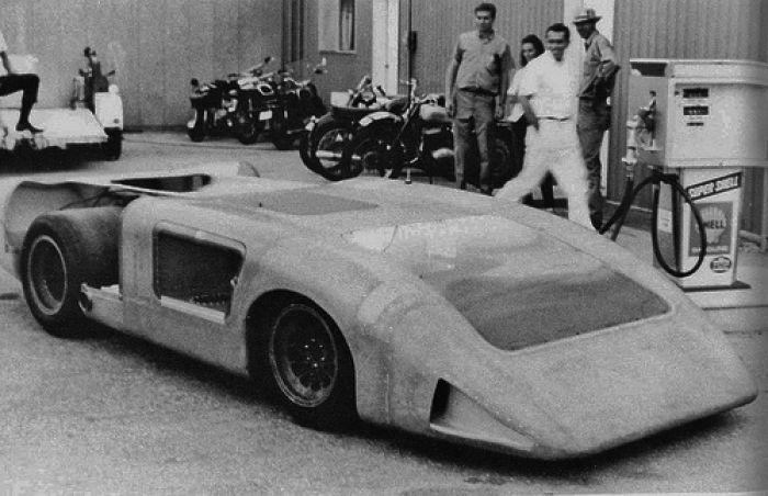 The original fully enclosed 2H prototype.