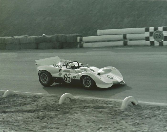 With the 2C Chaparral introduced moveable aerodynamics.