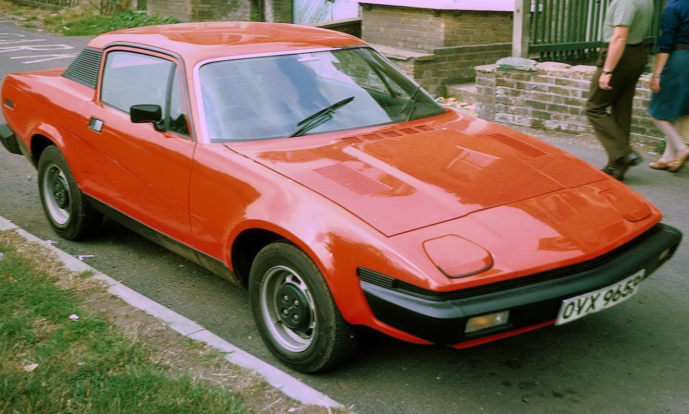Triumph's weird and ugly TR7 was to be turned into a brutish track stomper.