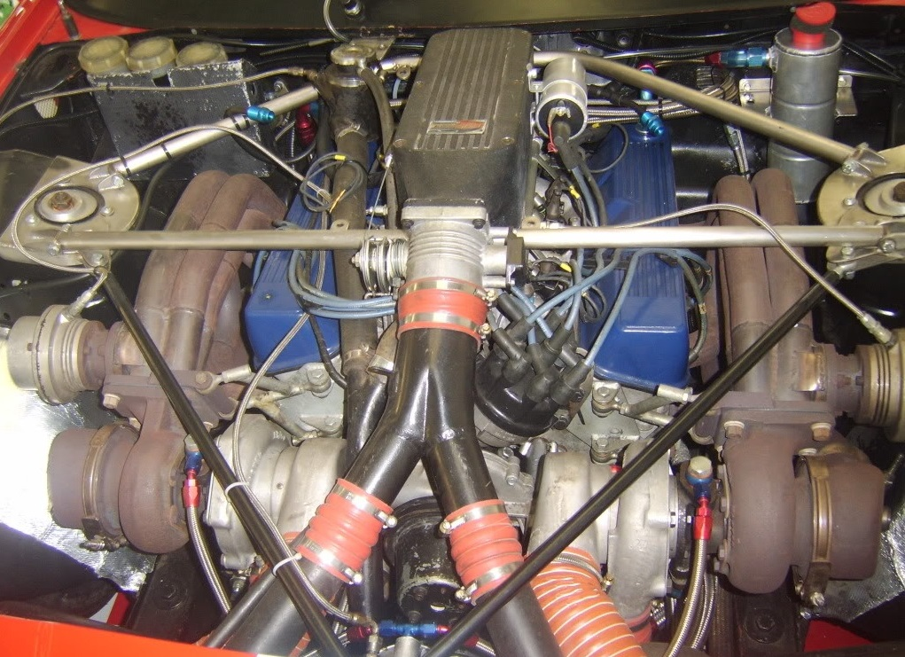 Janspeed's 3.6L twin turbo Rover V8.