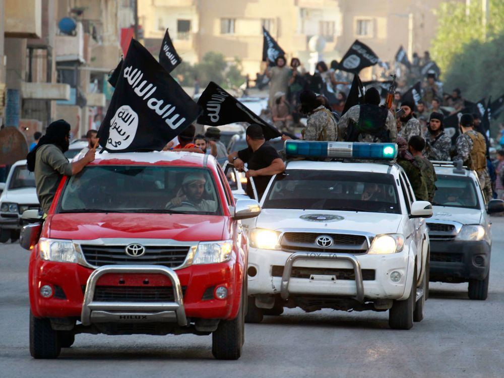 The Islamic State of Iraq and the Levant: one of many terrorist organizations who depend upon the Toyota Hilux.