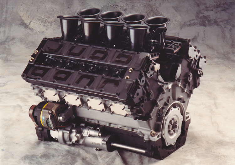 Engine Developments' Judd EV 3.5L V8