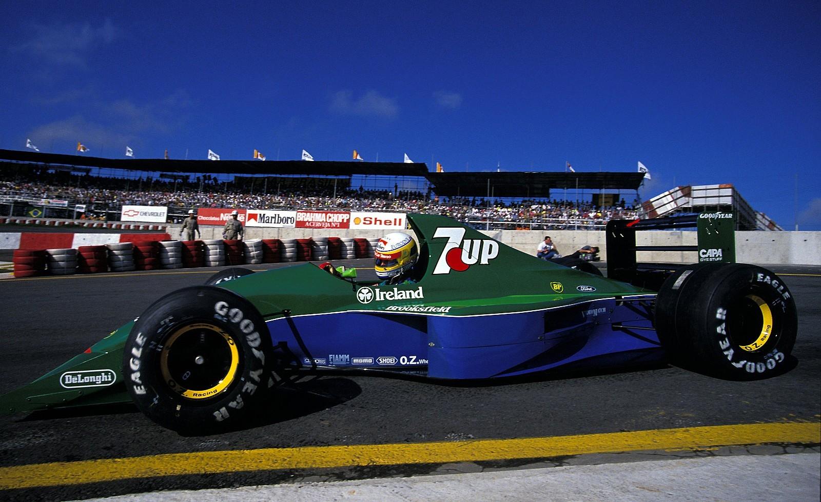 Bertrand Gachot, 1991 Brazilian Grand Prix.