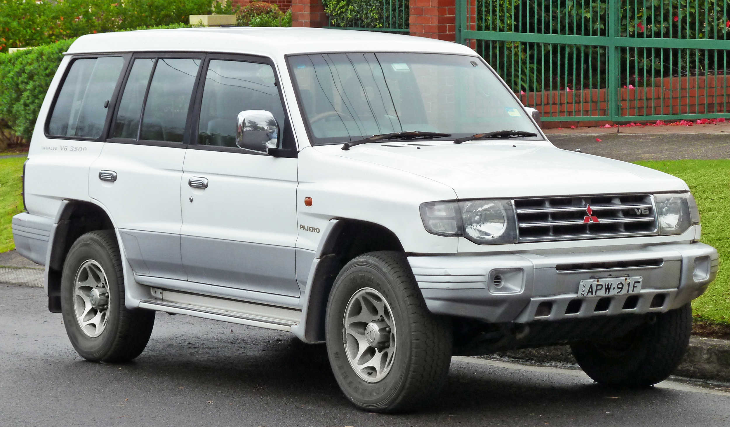 The popularity of 4x4s like the Mitsubishi Pajero prompted Ford to develop the Territory SUV