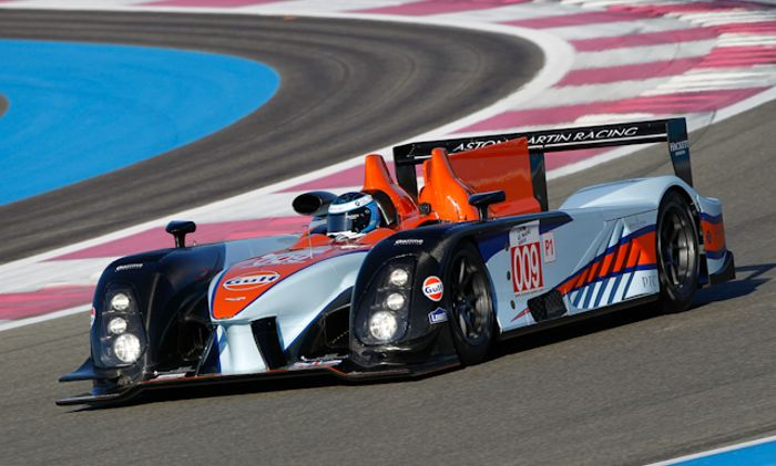 The No. 009 AMR-One running at Paul Ricard