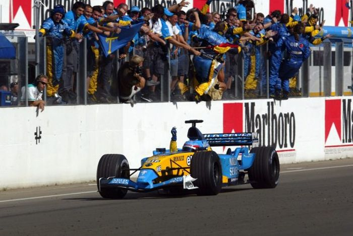 Alonso with his first win in Hungary was a sign of something special