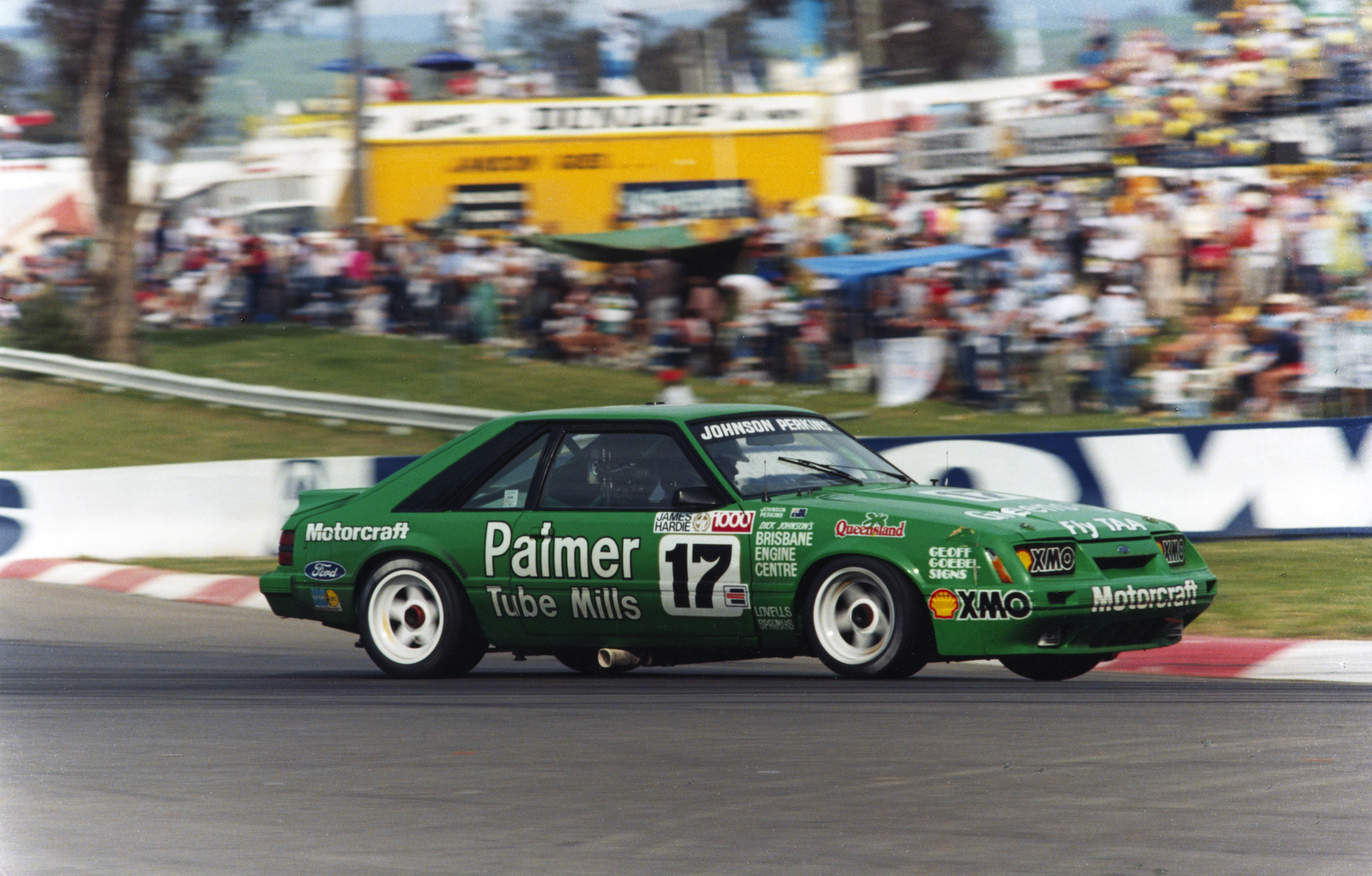 The last Mustang to compete in the ATCC