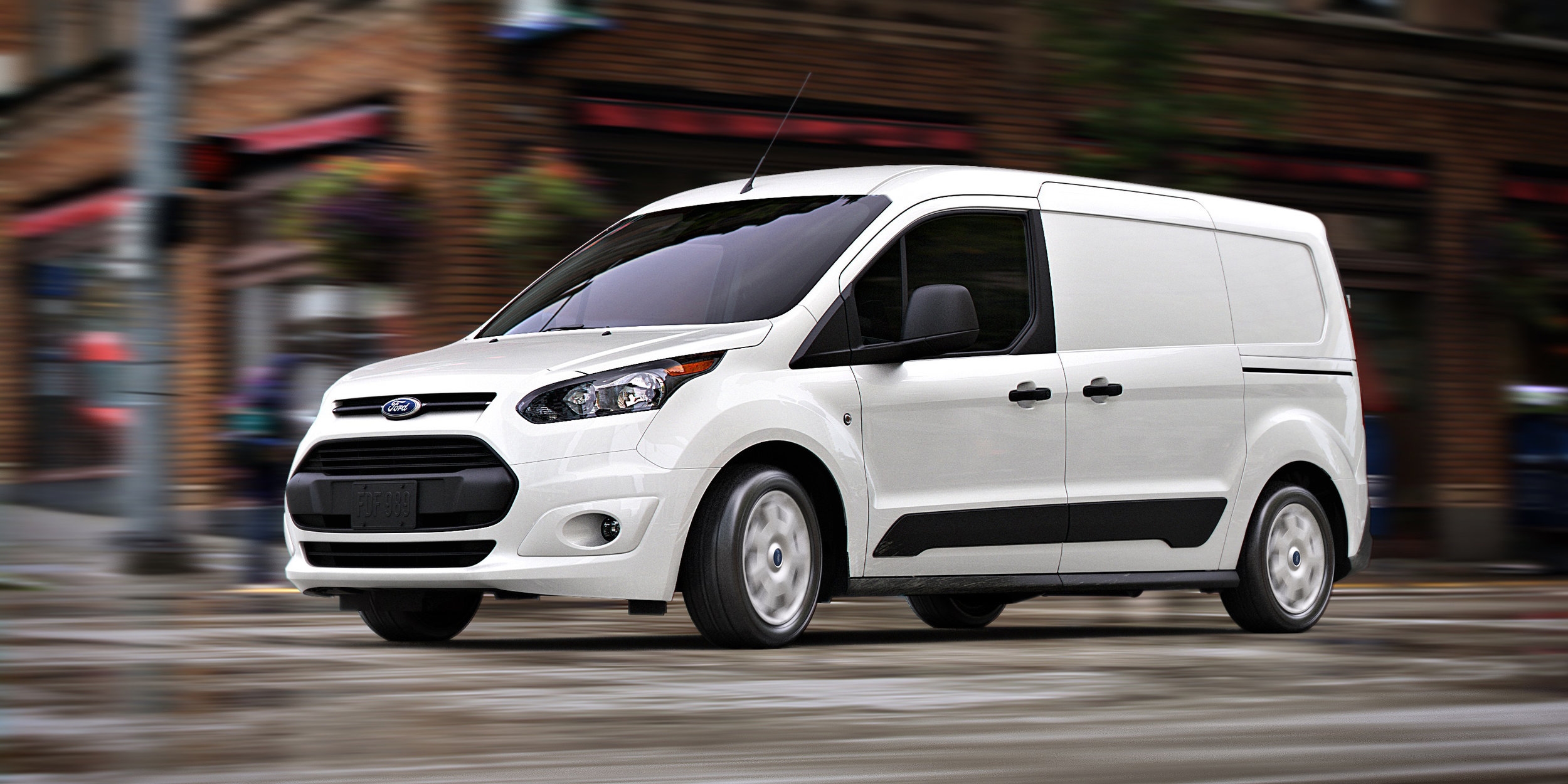 The Ford Transit Connect was such a hit in North America that it became the standard delivery van for Canada's national postal service.