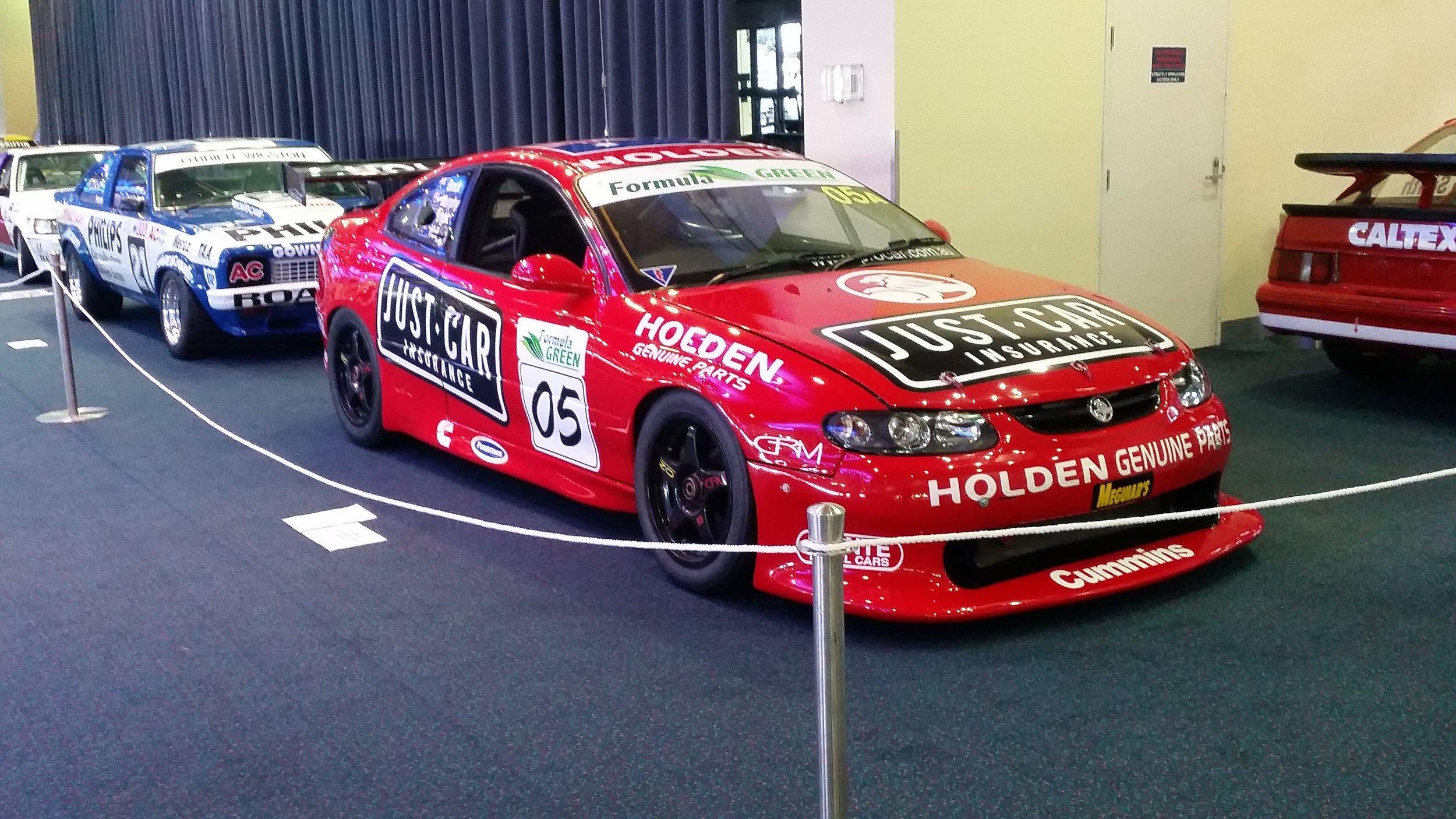The Holden Monaro 427C that won the 2004 Bathurst 24 Hour