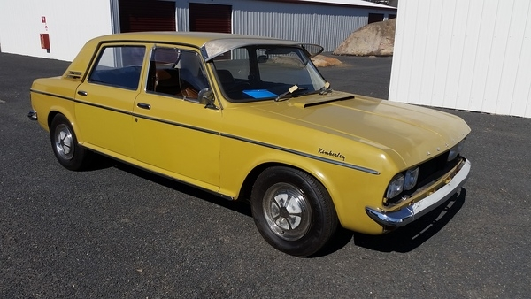 The 1972 Austin X6 Kimberly. The right car at the wrong time