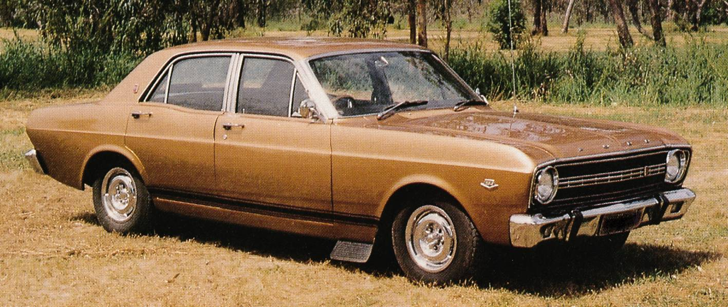 Australia's first muscle car, the XR Falcon GT