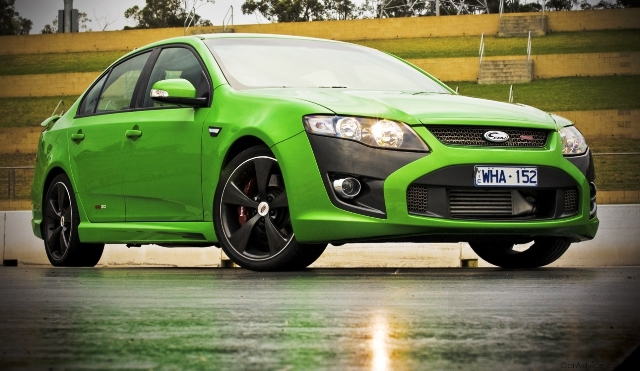 The 310kW FPV F6 was the fastest Australian production car at the time of release