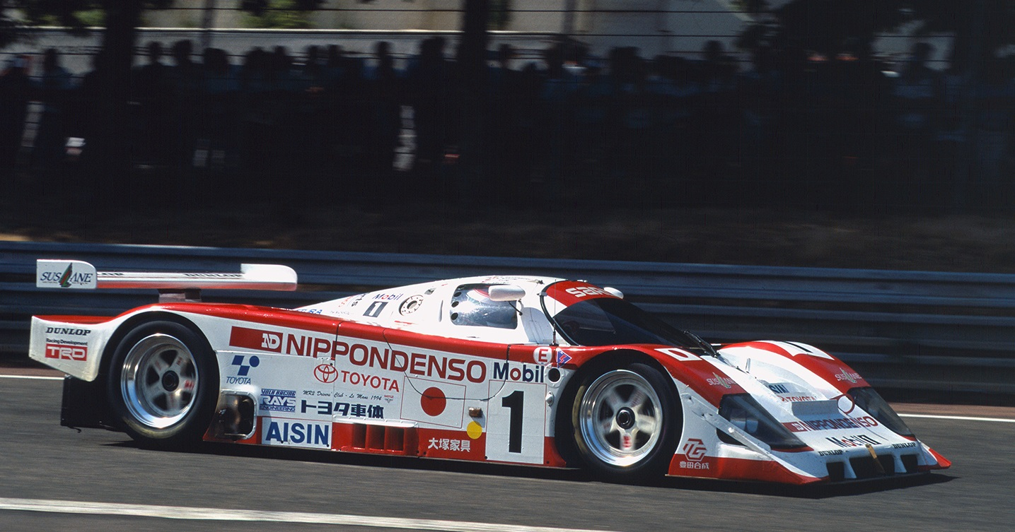 The 94C-V outlived the 3.5L era and helped Toyota save face by finishing 2nd in 1994.