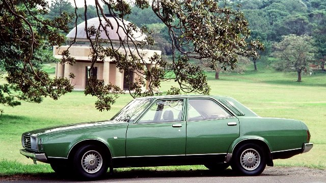 Aside from the fussy grille and too big rear, the P76 was an attractive car