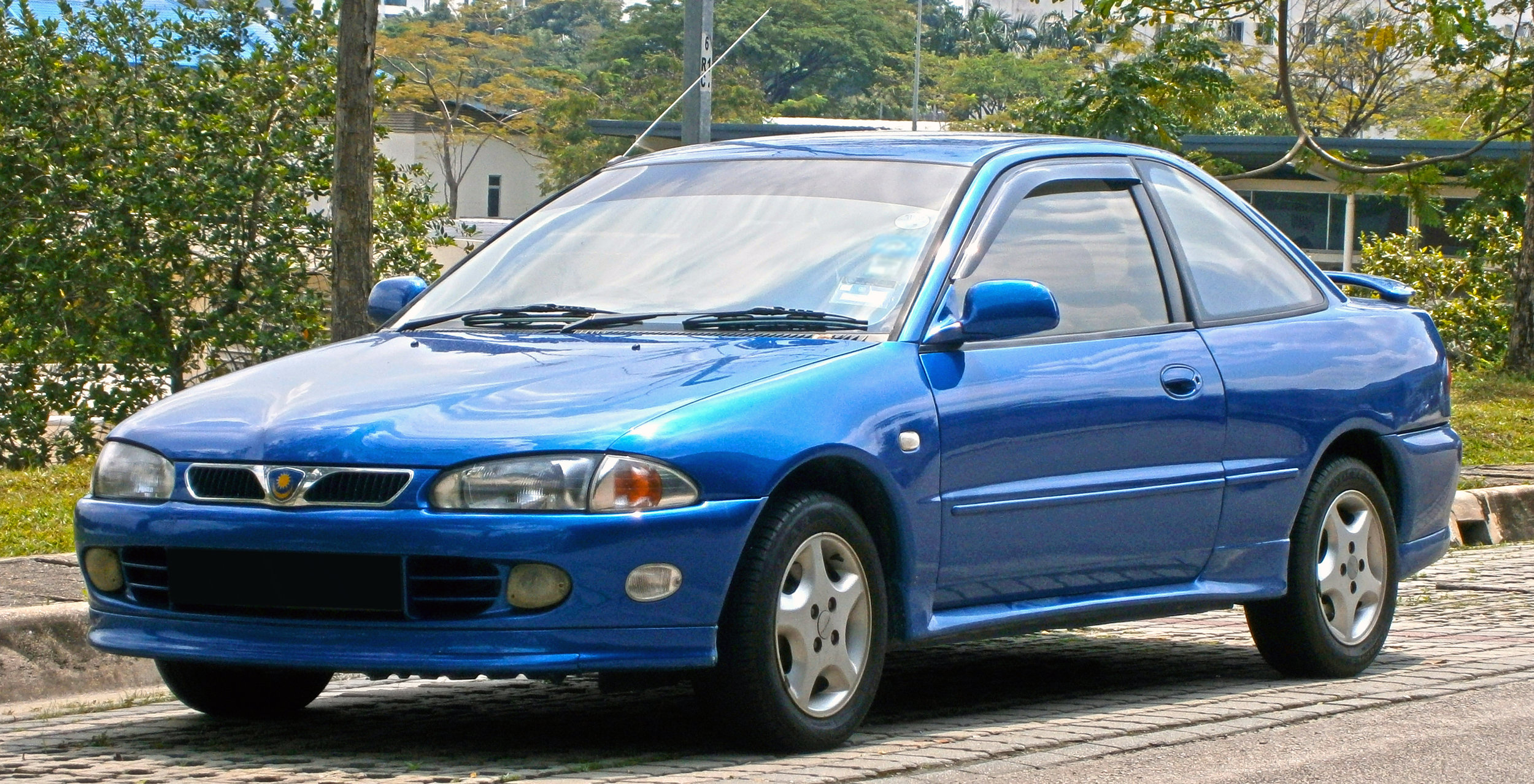 The Putra was Proton's first stylish coupe.