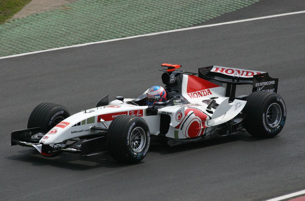 The 2005 BAR 007 was supposedly to be used by Super Aguri