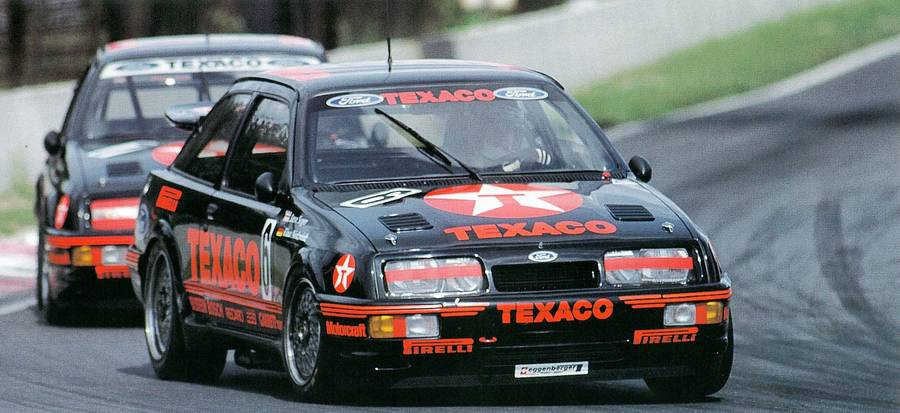 Group A spawned some wild machines, like this 500+ horsepower Ford Sierra Cosworth RS500.