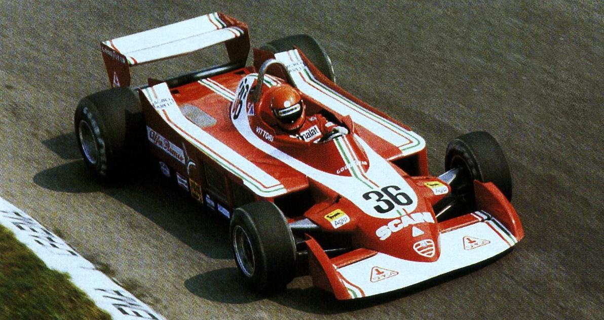 Vittorio Brambilla, Alfa 177.