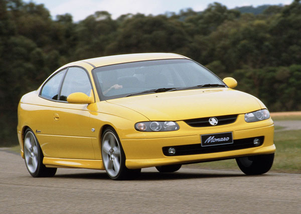 Holden revived the Monaro in 2001