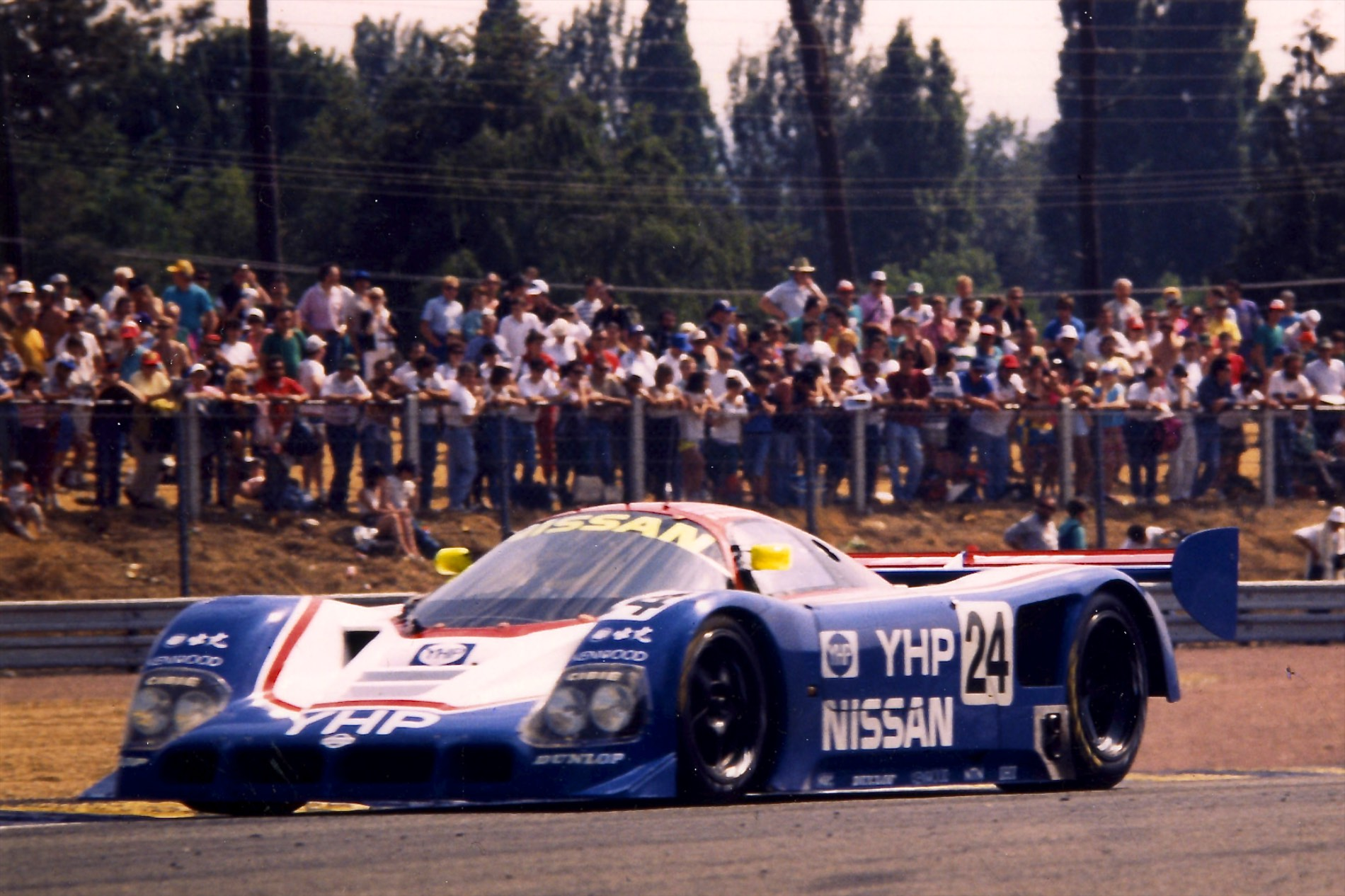 Mark Blundell and the savage R90CK made history, but failed to win.