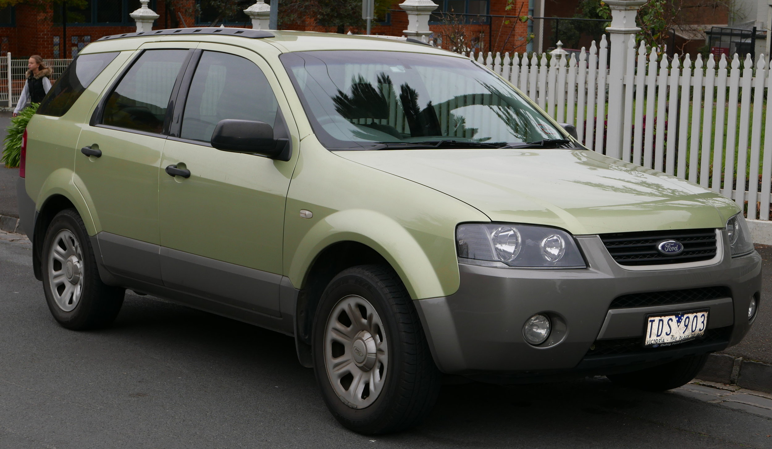 The Ford Territory is a fine example of what the Australian car industry was capable of
