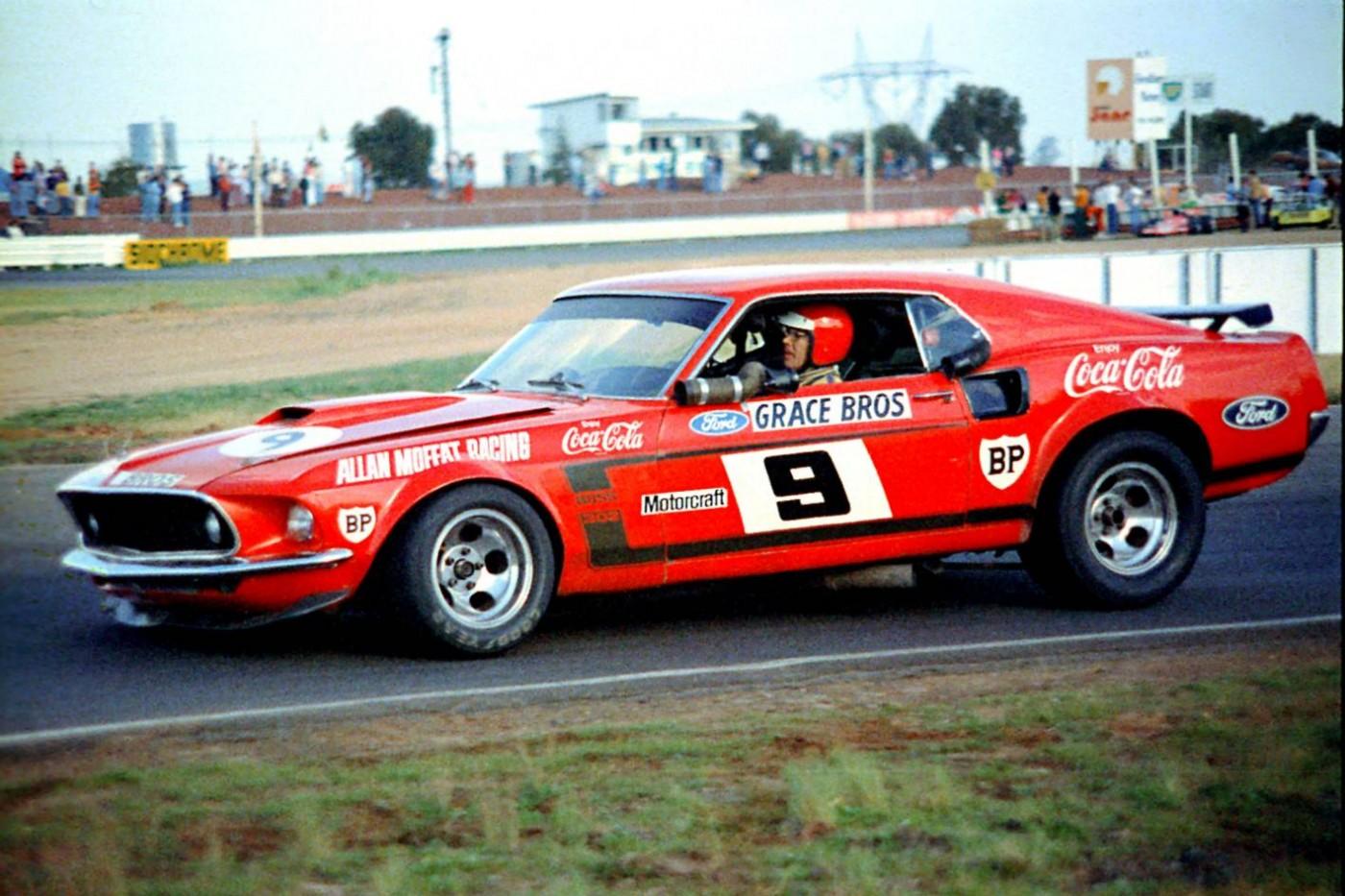 Allan Moffat and his legendary Coca-Cola Mustang