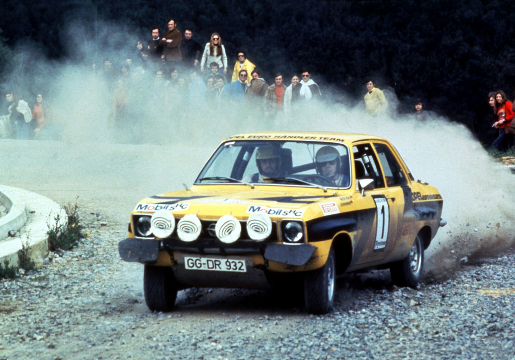 Walter Röhrl and Jochen Berger on their way to the 1974 ERC title.