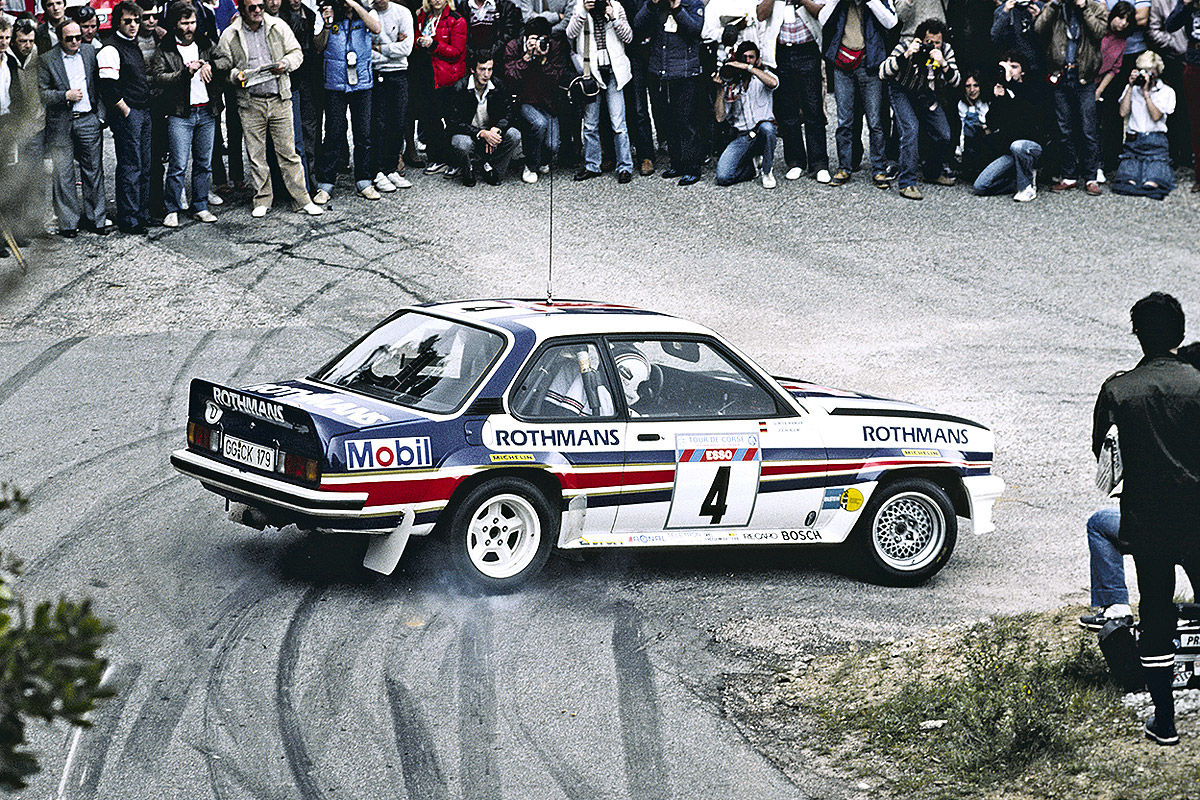 The Opel Ascona B 400 became an eternal legend in WRC's history books.
