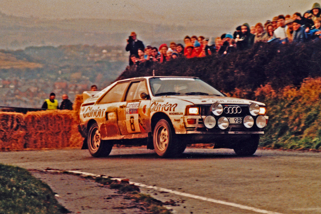 The original quattro was actually a rather large and cumbersome beast