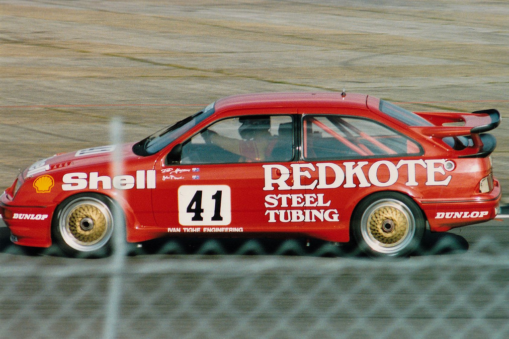 Dick Johnson proved that he had the world's fastest Sierra at the 1988 RAC Tourist Trophy