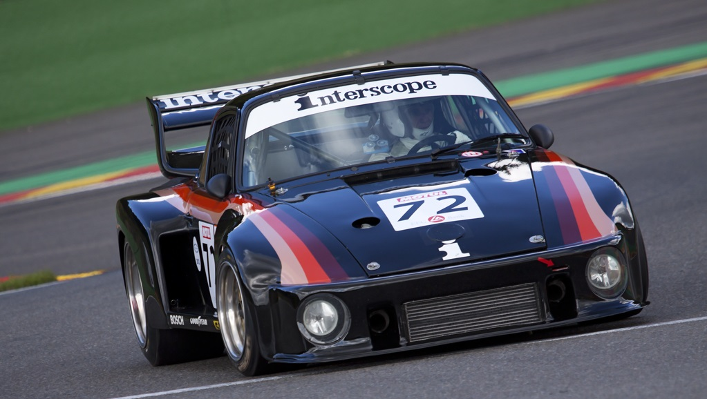 Interscope Racing and Danny Ongais were successful with Porsche's 935 in IMSA.