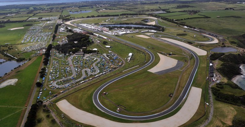 Phillip Island isn't much of a spectator's track and is hard to get to