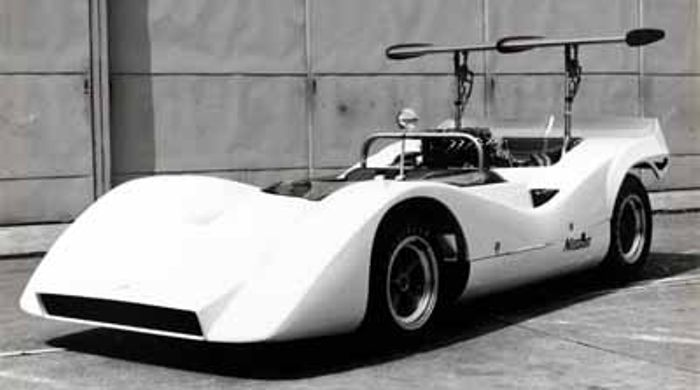 The early active aero version of the R382.