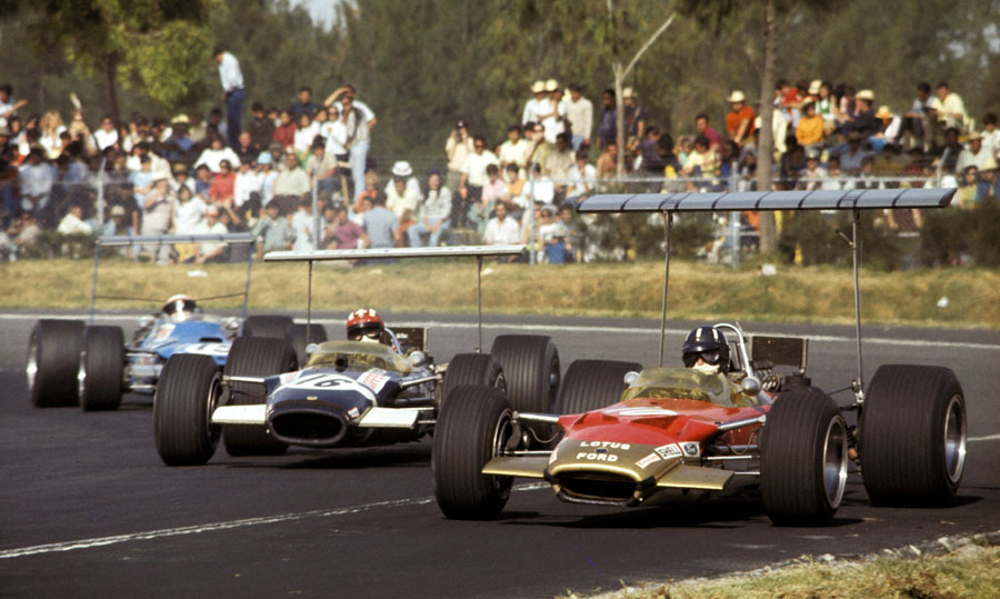 Formula One incorporated the high wing idea with lethally dangerous consequences.
