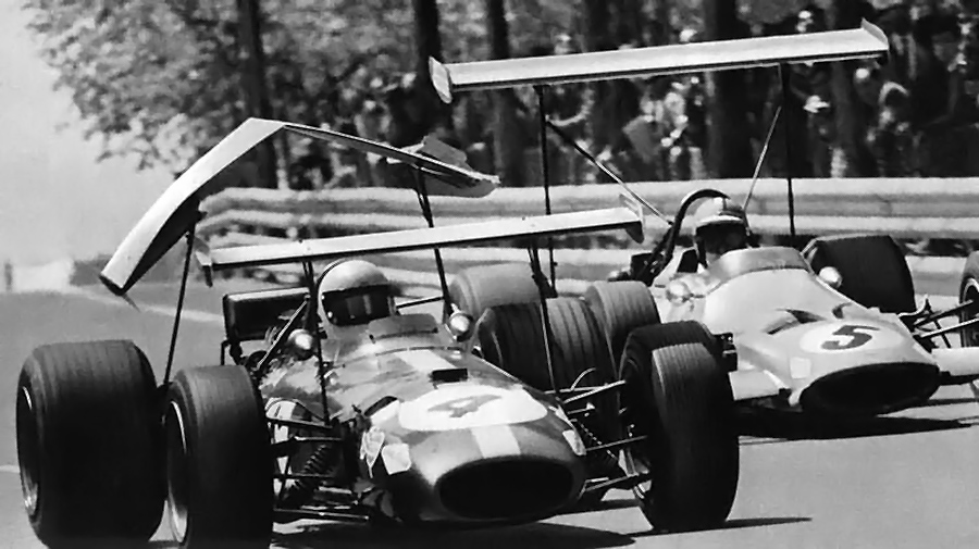 Deadly wing failures were rampant in F1's early aero days.