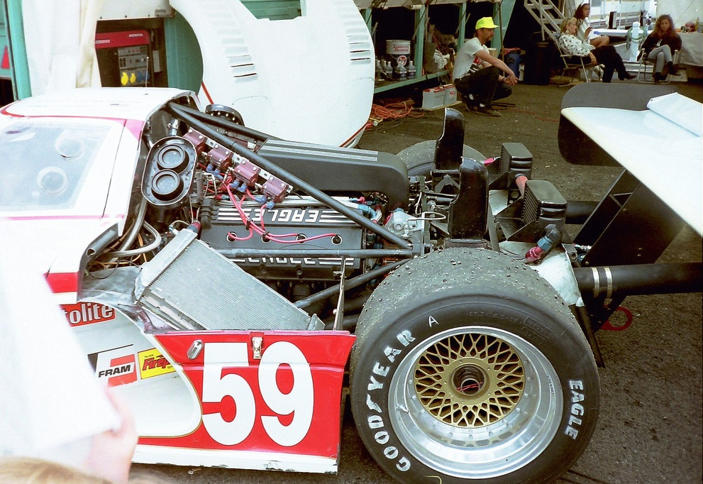 One of the largest engines ever to grace Le Mans.