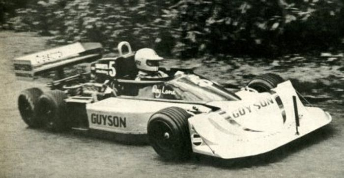 Roy Lane's March 2-4-0/771 hillclimb car