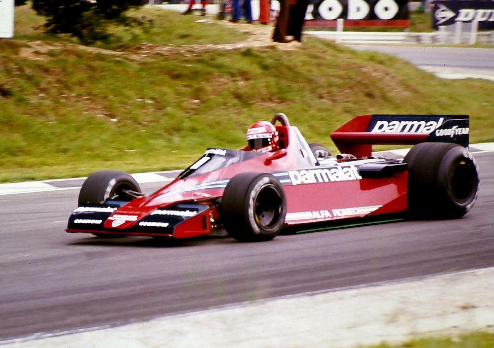 Niki Lauda in the lackluster Brabham BT46.