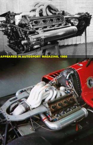 The Tipo 34 single turbo V8