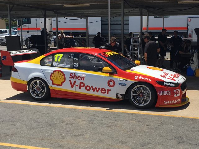 Scott McLaughlin reported feeling at ease at a recent ride day