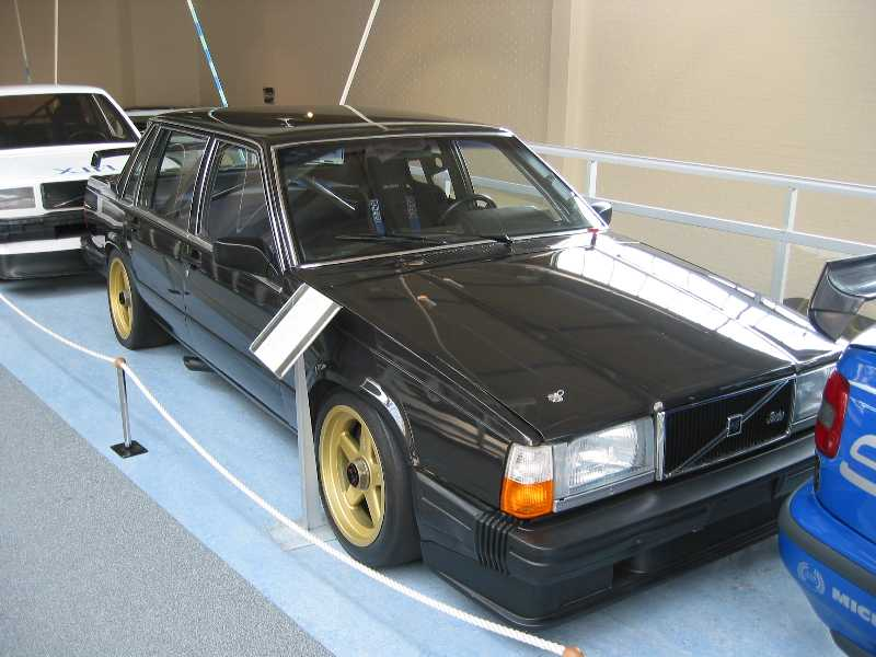 The 760 Turbo at Volvo's Gothenburg museum.