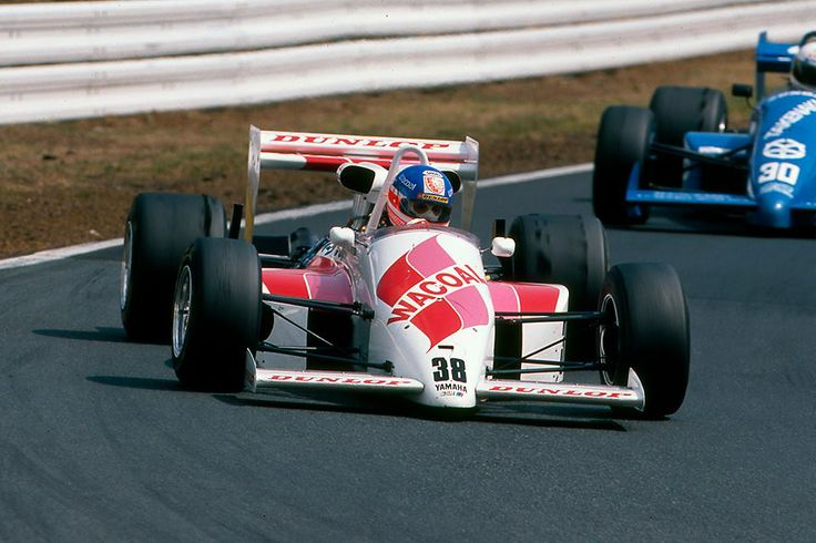 Ross Cheever (USA), March 87B Cosworth-Yamaha OX77.
