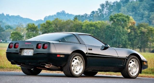 The C4-generation Corvette wasn't generally considered as a serious sportscar.