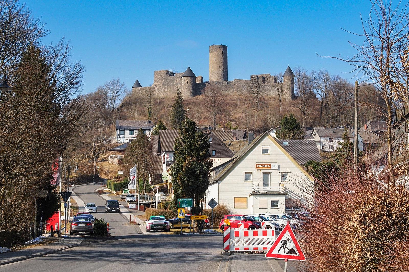 Nürburg Castle from Apex