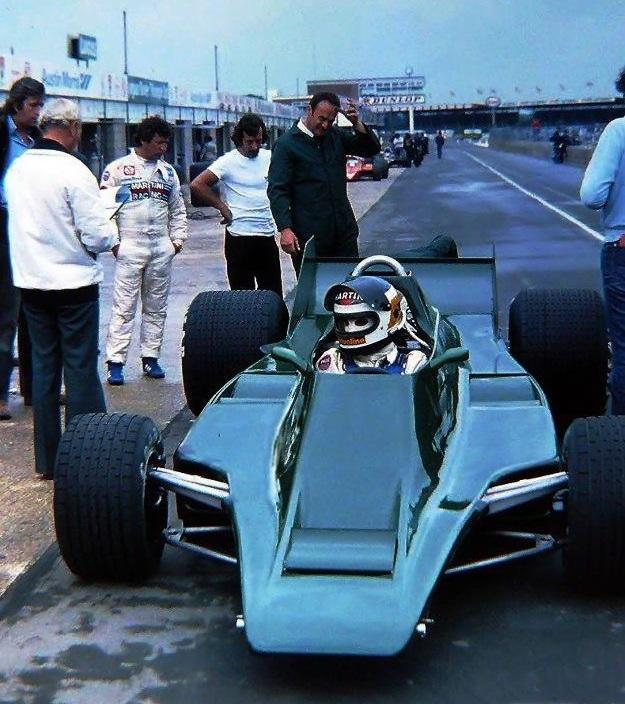 Carlos Reutemann, Silverstone Test 1979.