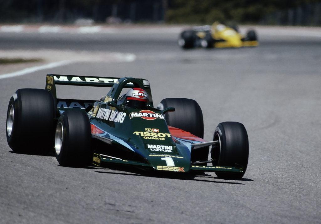 Mario Andretti, 1979 Spanish Grand Prix.